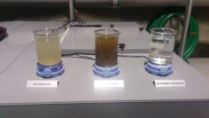 Zermattin puhdistamo vesinäytteet