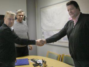 Salosaari urakkasopimus